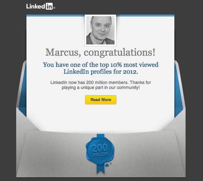 El perfil de LinkedIn te permite ganar visibilidad como profesional. FUENTE. commons.wikimedia.org